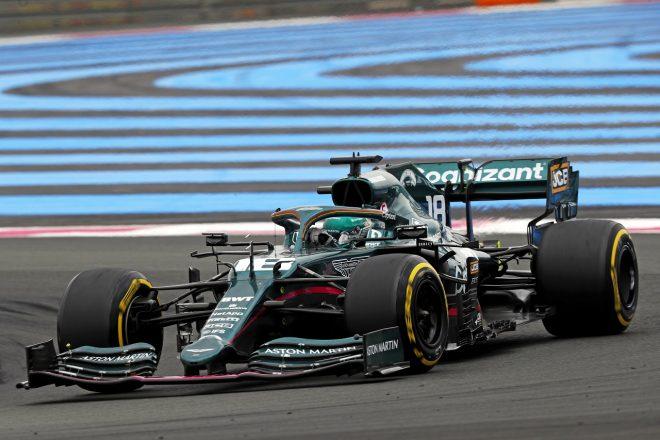 2021年F1第7戦フランスGP ランス・ストロール(アストンマーティン)
