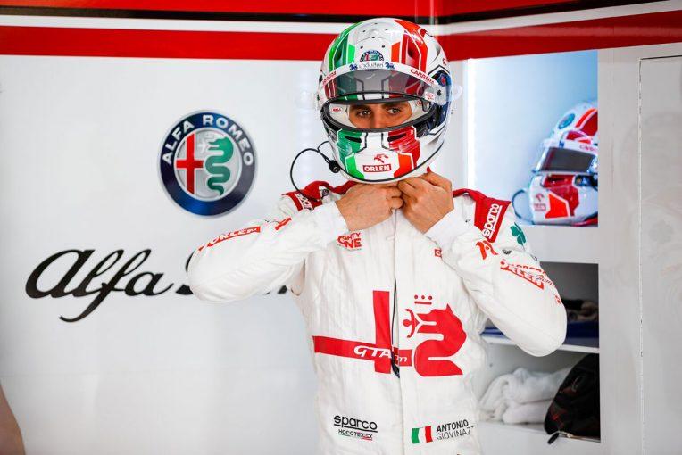 F1 | ジョビナッツィ「一発の速さは素晴らしかったが、入賞できるペースはなかった」:アルファロメオ F1第7戦決勝