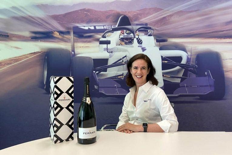 海外レース他 | 女性フォーミュラのWシリーズの公式スパークリングワインにフェッラーリが決定