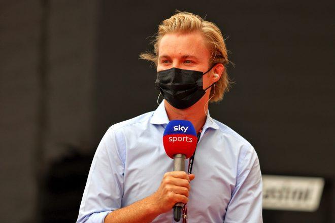 2021年F1第7戦フランスGP Sky Sportsの解説を務めるニコ・ロズベルグ