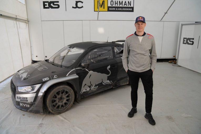ラリー/WRC   WorldRXの3冠王者ヨハン・クリストファーソンがEKS JC移籍を発表。初のアウディをドライブへ