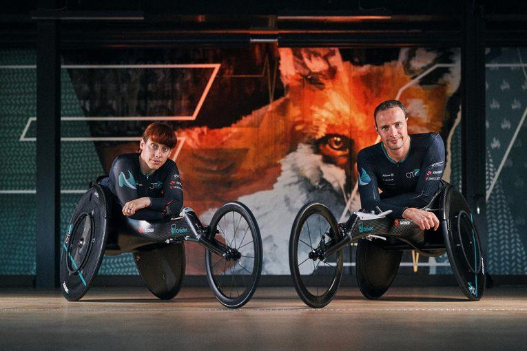 F1   ザウバー、東京パラリンピックに出場するスイス選手のためにレーシングホイールチェアを開発
