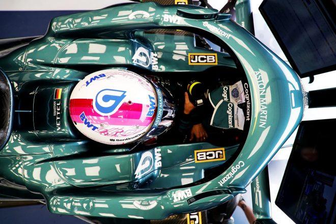 2021年F1第7戦フランスGP セバスチャン・ベッテル(アストンマーティン)