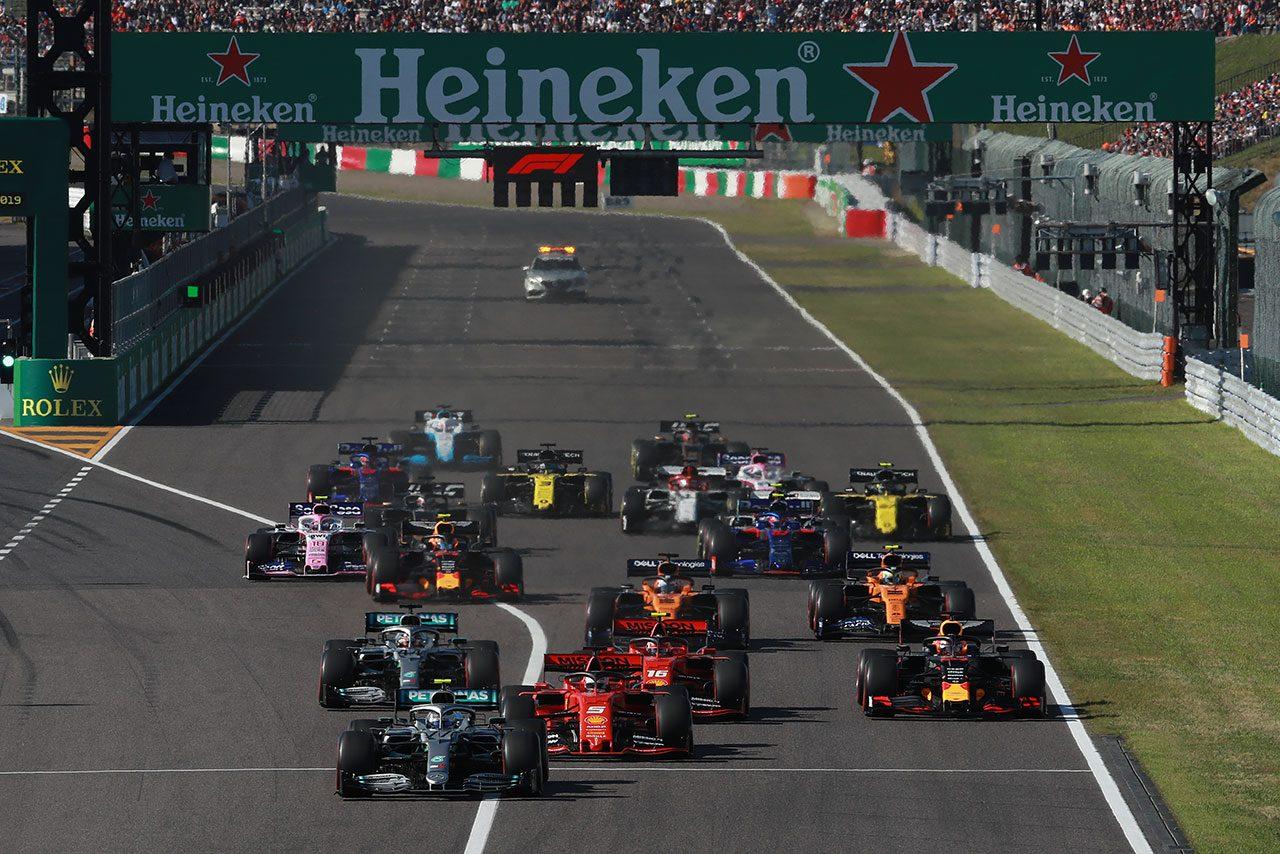 F1   MotoGP日本GP中止も「F1日本GPと鈴鹿8耐は引き続き開催に向けた準備を進めていく」とモビリティランド