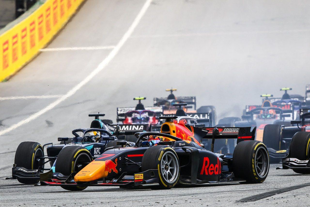 2020年FIA-F2オーストリア 角田裕毅(カーリン)