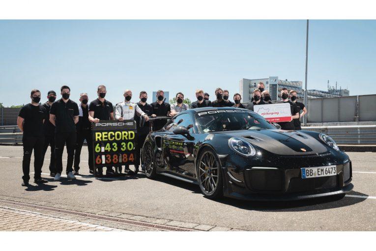クルマ   【動画】ニュル北コース市販車最速車、ポルシェ911 GT2 RSのオンボードが公開