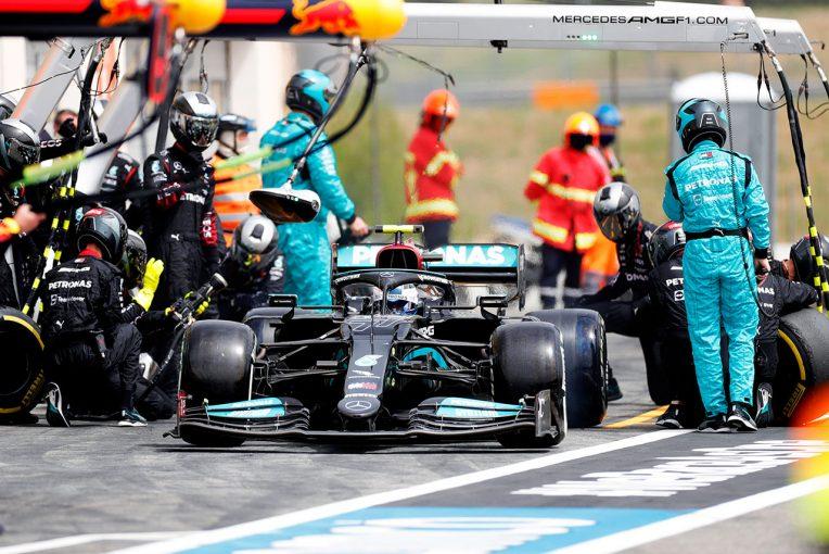 F1 | 【F1第7戦無線レビュー(1)】アンダーカットを仕掛けるボッタスにエンジニアが檄「行け!このラップ全体が重要だ」