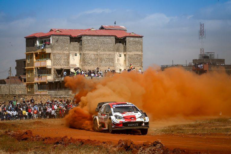 ラリー/WRC   サファリ・ラリー初日はトヨタ勢が1-2-3、勝田は首位と5.6秒差の6番手/WRC第6戦