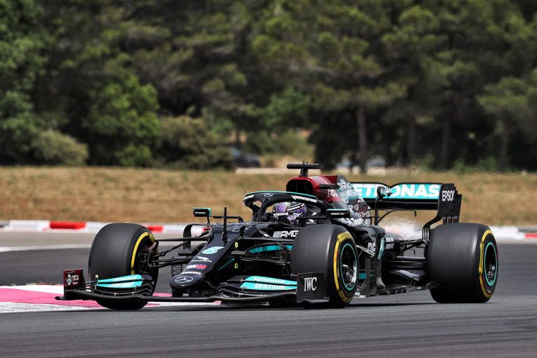 "F1 | 【F1第7戦無線レビュー(2)】「タイヤを全部使うの? それとももう1周?」ハミルトンが""ハンマータイム""で躊躇"