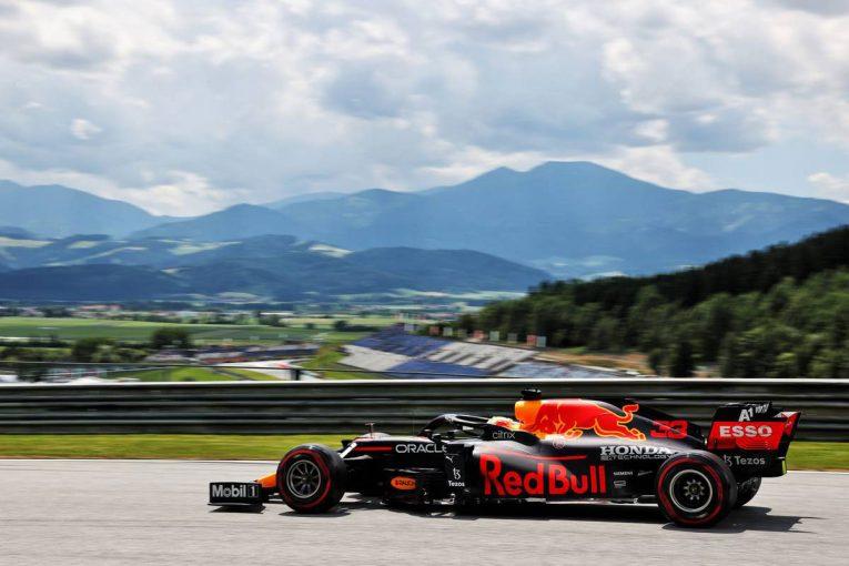 F1 | シュタイアーマルクGP FP1:フェルスタッペンが首位。アルファタウリ・ホンダのガスリーが2番手、角田は5番手
