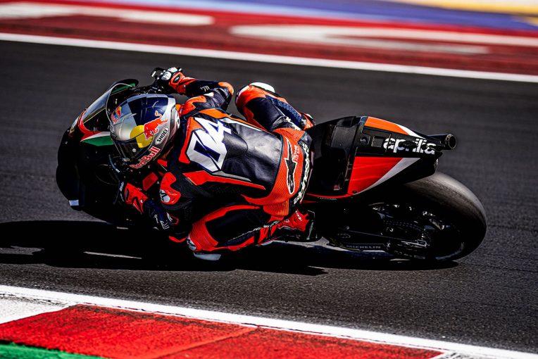 MotoGP | ドヴィツィオーゾ、アプリリアRS-GPでミサノを走行。3度目のテストは2022年に向けて実施