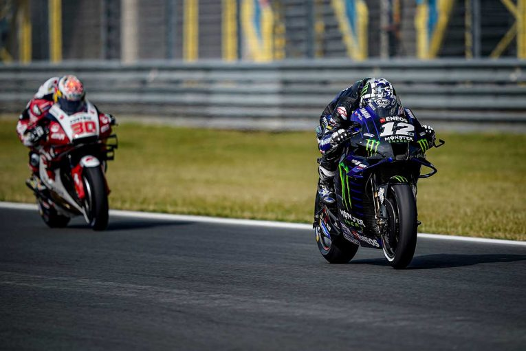 MotoGP | MotoGP第9戦オランダGP:ビニャーレスが初日総合トップ。M.マルケスはFP2でハイサイドを喫し、緊張走る