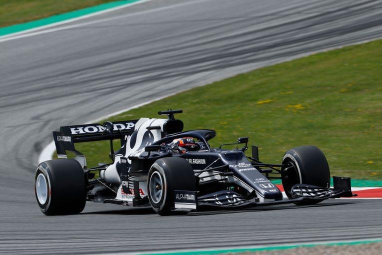 F1 | 【角田裕毅F1第8戦密着】ガスリーが走れず、FP2では単独でデータ収集。ミスの許されない状況下で期待に応える