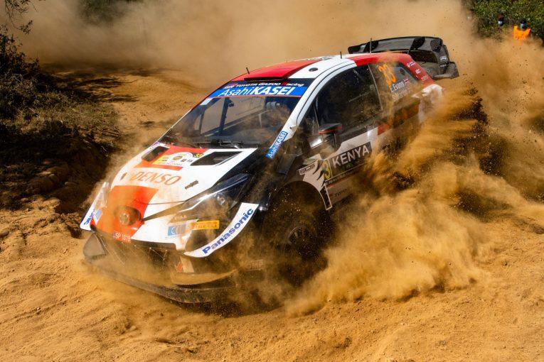 ラリー/WRC   石にヒットしたエバンス「基本的なミス、後悔している」/WRC第6戦ケニア デイ2後コメント