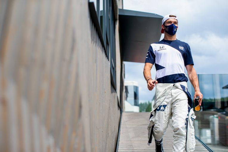 F1   ガスリー、PUの問題調査で走行時間をロス「裕毅のデータも活用して予選に備える」アルファタウリ・ホンダ/F1第8戦
