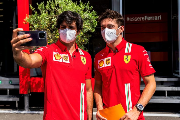 F1 | ルクレール「いつもとは逆に、ロングランペースは良くてショートランで苦しんでいる」フェラーリ/F1第8戦金曜