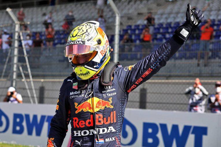 F1 | レッドブル・ホンダのフェルスタッペンが今季3度目のポール獲得。角田は自己ベストタイ8番手【予選レポート/F1第8戦】