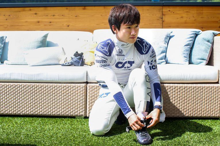 F1 | 角田裕毅、自己最高タイの予選8番手も、他車妨害で降格「リラックスして臨みQ3進出。11番手から追い上げる」F1第8戦