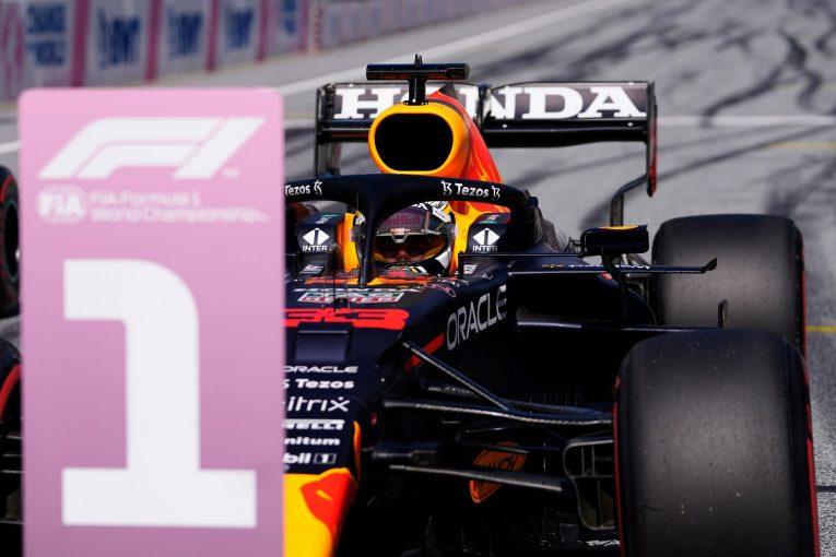 F1 | ホンダF1が83回目のポール、MGU-K交換のガスリー含む4台がトップ8「決勝にもいい兆候。全車で好結果を」と田辺TD