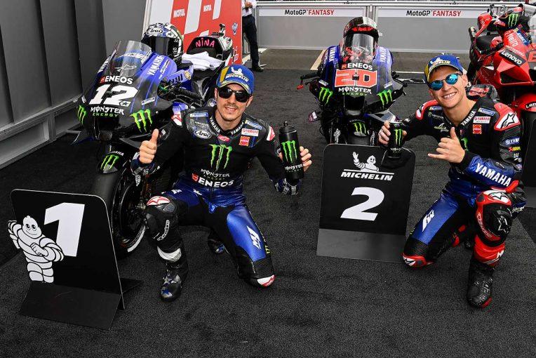 MotoGP | ビニャーレス、雪辱のポール獲得。「グリップがよければ速く走れる」/MotoGPオランダGP第9戦予選トップ3コメント