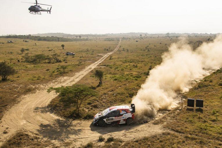 ラリー/WRC   【順位結果】2021年WRC第6戦ケニア SS13後