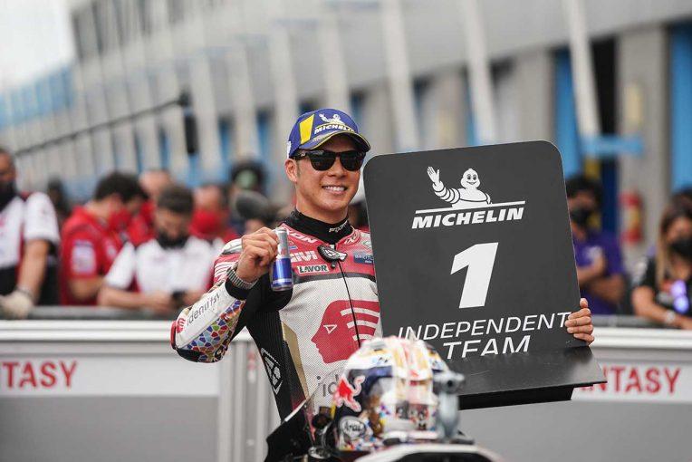 MotoGP   中上貴晶「この数戦苦戦しましたが、4番手はすばらしい結果」/MotoGP第9戦オランダGP予選