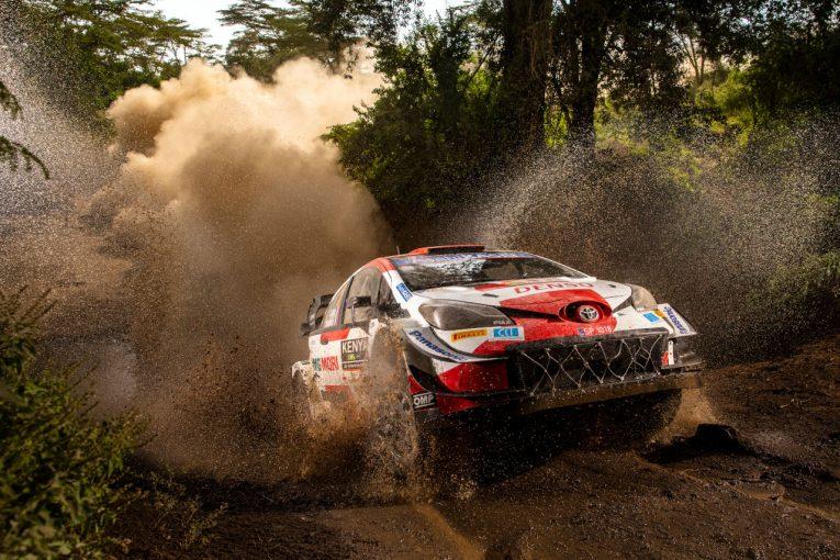 ラリー/WRC   雨中の力走で3番手浮上のオジエ「まるで氷の上のようだった」/WRC第6戦ケニア デイ3後コメント