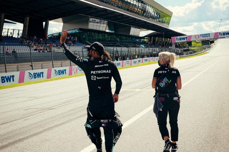F1 | ハミルトン予選3番手「判断ミスで、最後のチャンスを棒に振ってしまった」メルセデス/F1第8戦