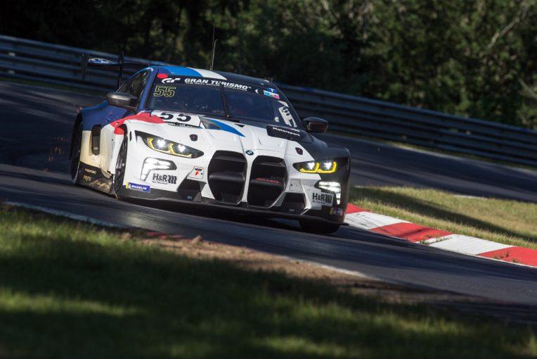 ル・マン/WEC   BMW M4 GT3、クラッシュによりニュルブルクリンク耐久での実戦デビューを取りやめ