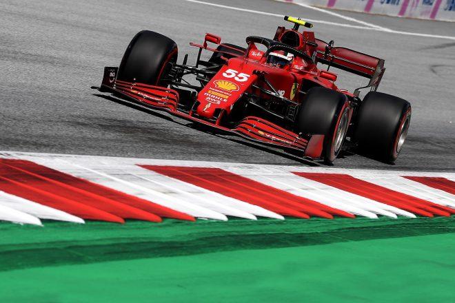 2021年F1第8戦シュタイアーマルクGP カルロス・サインツJr.(フェラーリ)