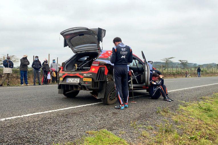 ラリー/WRC | 優勝目前のリタイア「超低速コーナーで何かが壊れたのを感じた」とヌービル/WRC第6戦ケニア デイ4後コメント