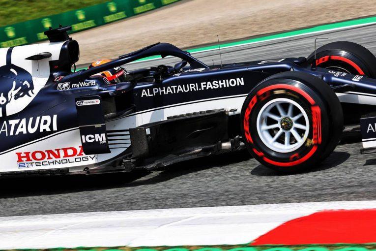 F1   【F1第8戦無線レビュー:予選】角田裕毅「先週から進歩できた。いいクルマを作ってくれたおかげだ」2度目のQ3で8番手