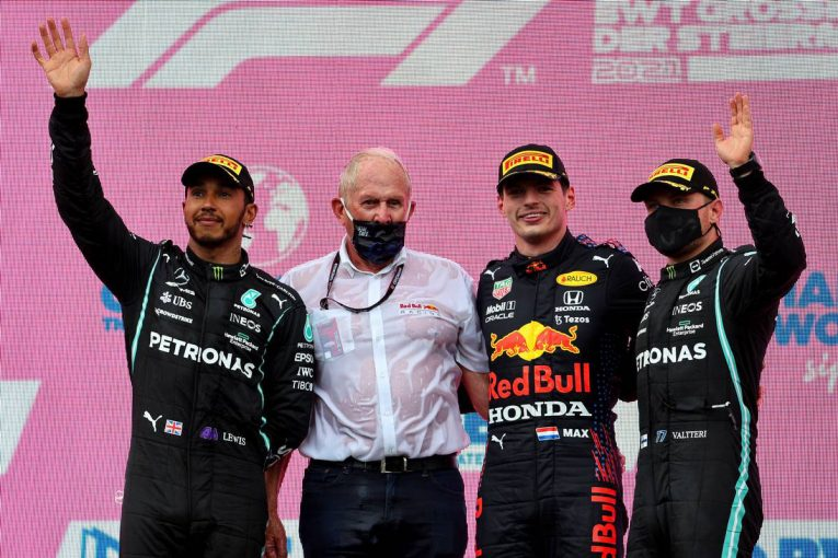 F1 | フェルスタッペンが独走ポール・トゥ・ウイン。ホンダ、1991年以来の4連勝&角田3度目入賞【決勝レポート/F1第8戦】