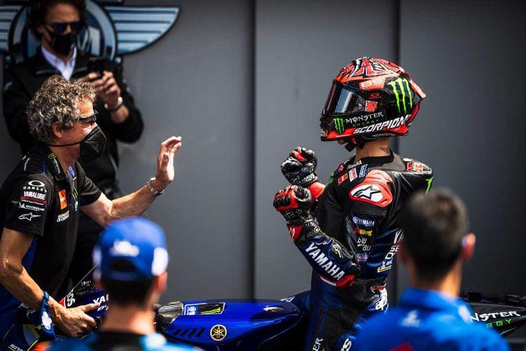 MotoGP | MotoGP第9戦オランダGP:クアルタラロが今季4勝目で、チャンピオンシップトップを堅守。ビニャーレス2位でヤマハがワン・ツー
