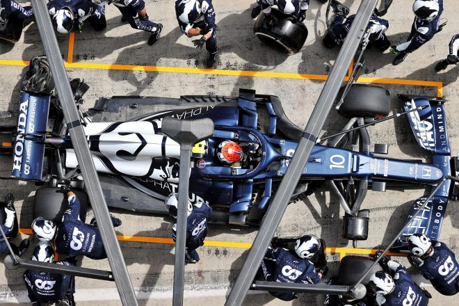 2021年F1第8戦シュタイアーマルクGP ピエール・ガスリー(アルファタウリ・ホンダ)がリタイア