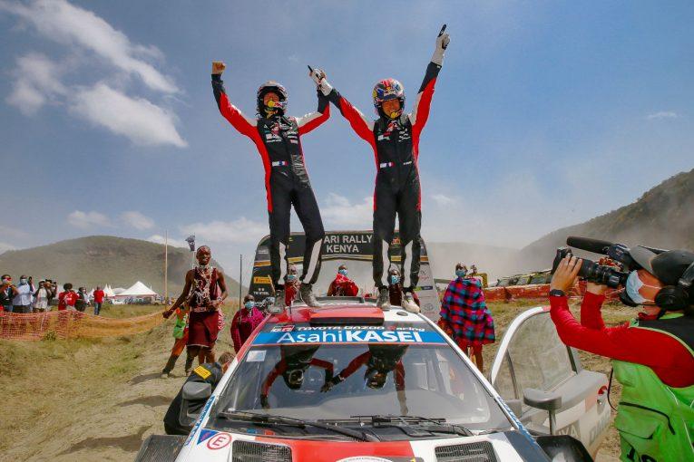 ラリー/WRC   トヨタのオジエが今季4勝目。勝田貴元は2位で自身初の表彰台獲得/WRC第6戦ケニア