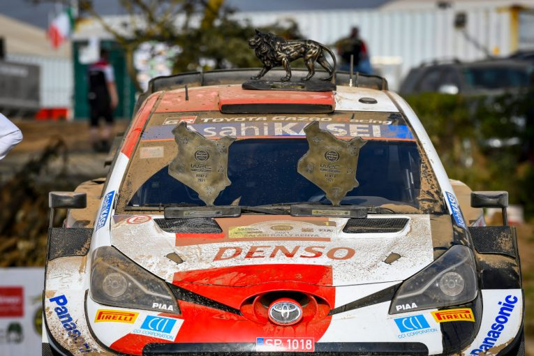 ラリー/WRC | 「セブと優勝を争い2位! 震えるほど感動した」豊田章男氏、初表彰台の勝田貴元を祝福/WRCケニア