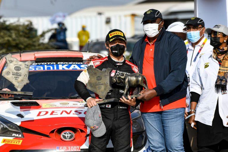 ラリー/WRC | 勝田貴元、伝統のサファリ・ラリーで2位の快挙! 日本人WRC表彰台は27年ぶり