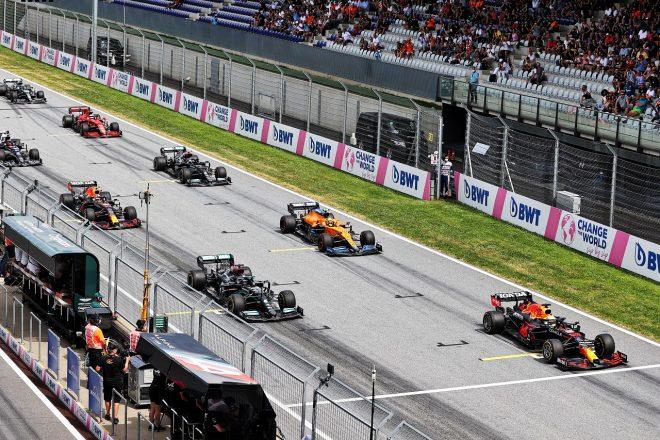 2021年F1第8戦シュタイアーマルクGPスタート