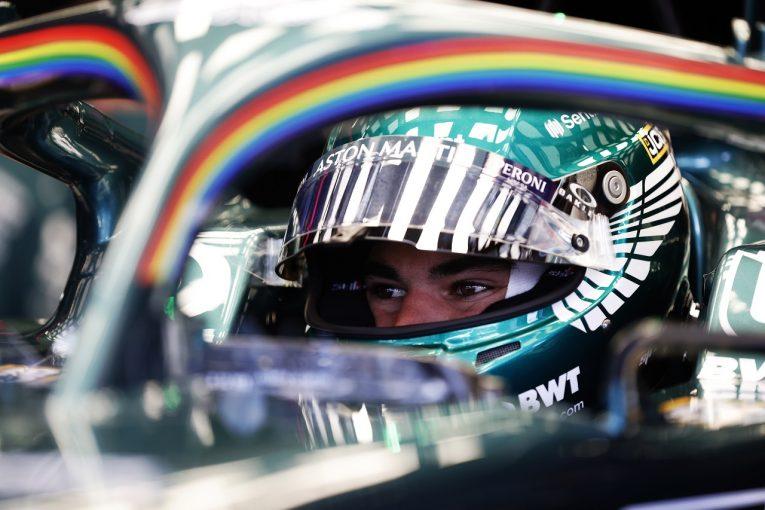F1   ストロール8位「最初から最後までバトル。エキサイティングなレースだった」アストンマーティン/F1第8戦