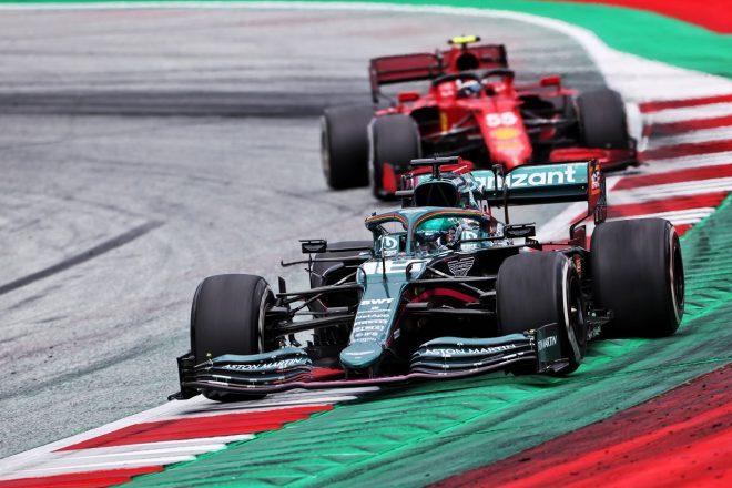 2021年F1第8戦シュタイアーマルクGP ランス・ストロール(アストンマーティン)