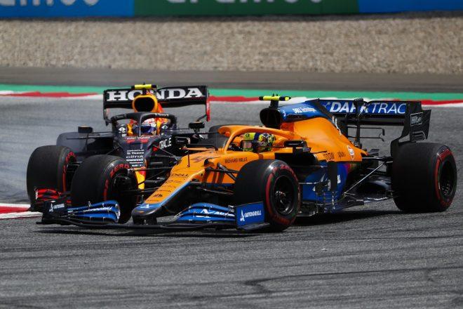 2021年F1第8戦シュタイアーマルクGP ランド・ノリス(マクラーレン)