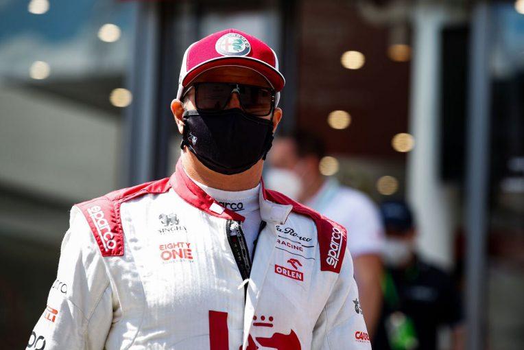 F1 | ライコネン「できる限りのことをやり、あのスタート位置で得られる最善の成績だった」:アルファロメオ F1第8戦決勝