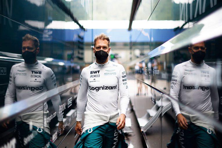 F1 | ベッテル「トラフィックの中を走る時間が長く、終盤はグリップが落ちて苦戦」:アストンマーティン F1第8戦決勝