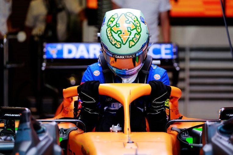 F1 | リカルド「最高のスタートでいいポジションを走っていたが、急にパワーを失った」:マクラーレン F1第8戦決勝