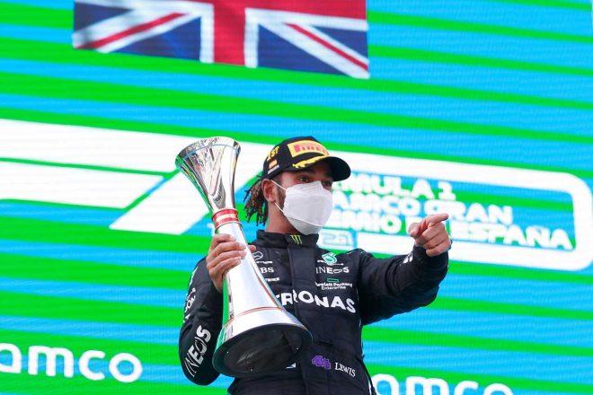 2021年F1第4戦スペインGP ルイス・ハミルトン(メルセデス)