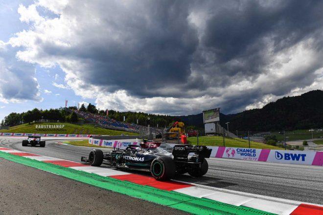 2021年F1第8戦シュタイアーマルクGP バルテリ・ボッタス(メルセデス)