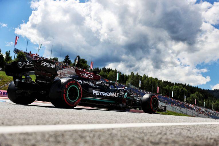 F1   王者メルセデス4連敗。マシンバランスの悪さが招いたリヤタイヤの性能劣化とペース不足/F1第8戦