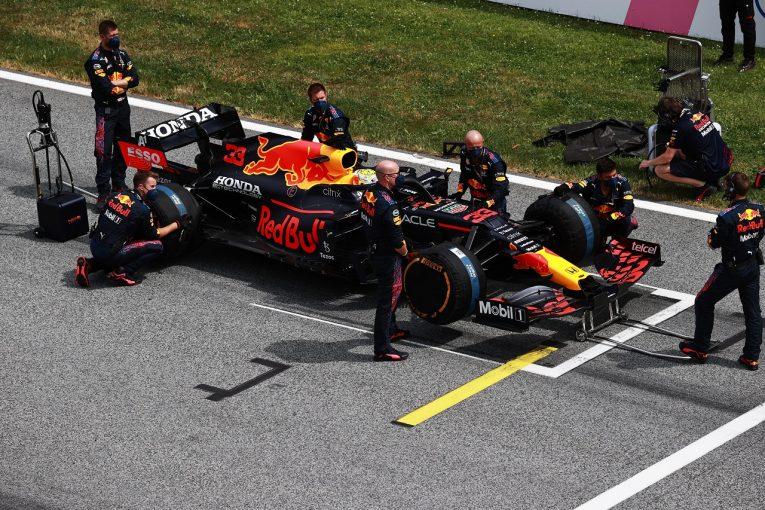 F1   レッドブルF1代表「新車開発とのバランスをうまくとりながら、今季タイトル獲得を目指していく」
