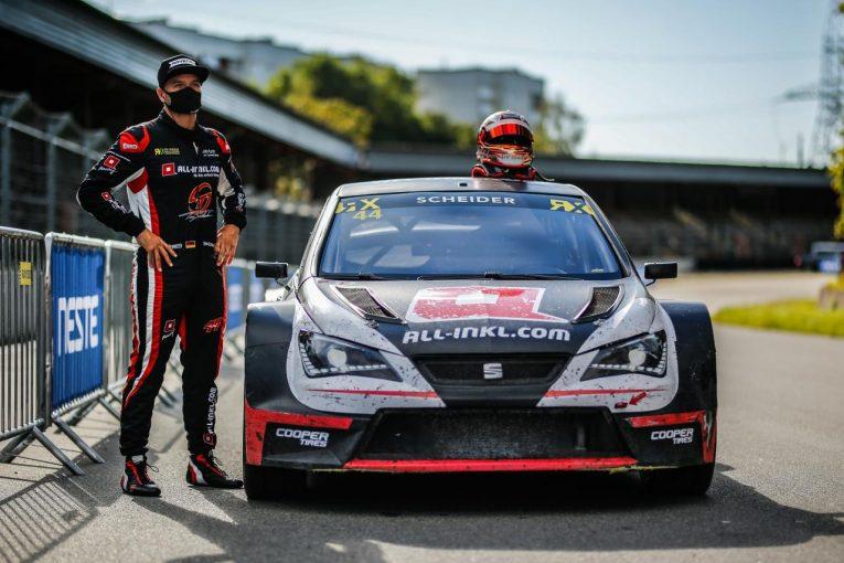 ラリー/WRC   ティモ・シャイダーもセアト・イビーザで継続参戦。2021年WorldRX開幕戦は全17台集結